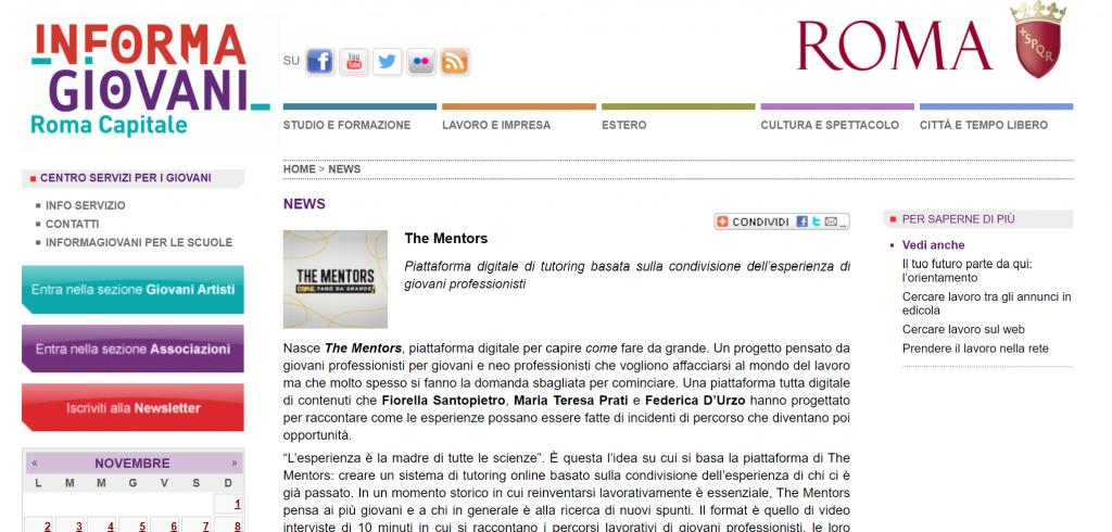 informagiovani di roma