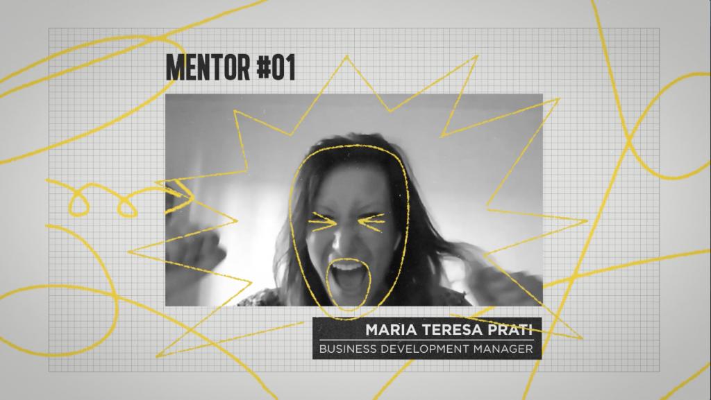 Presentazione mentor durante una puntata