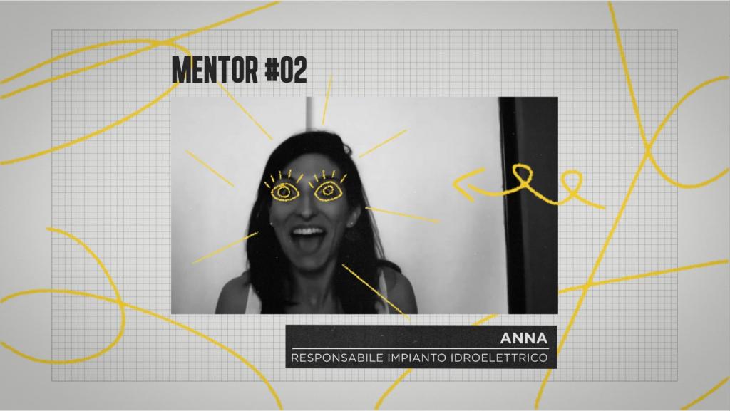 Grafiche utilizzate durante la puntata di the mentors